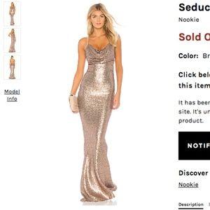 Revolve seduce gown